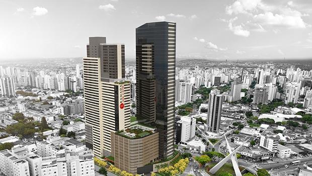 Maquete do Nexus Shopping & Business | Foto: Divulgação