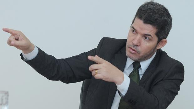 Waldir Soares, candidato do PR: o discurso monotemático, sobre segurança pública, pode ser redenção ou calvário, dependendo de como se dará o debate na campanha eleitoral | Foto: Renan Accioly