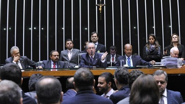 Presidente da Câmara, Eduardo Cunha (PMDB-RJ) iniciará a sessão de domingo (17/4) às 14 horas | Foto: Luis Macedo/Câmara dos Deputados