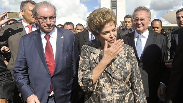 Apresidente Dilma Rousseff, ao contrário do deputado Eduardo Cunha, não é ré no Supremo Tribunal Federal | Foto: Geraldo Magela/Agência Senado