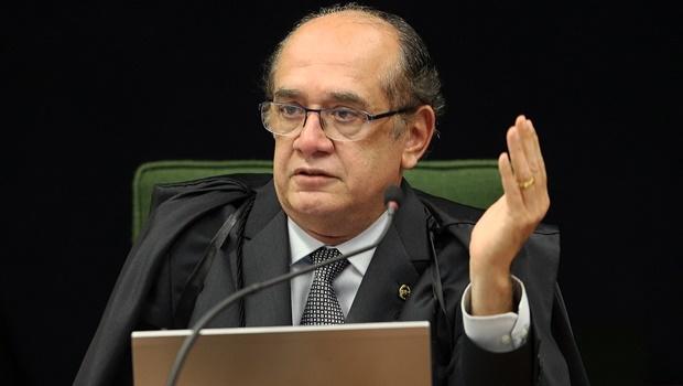 Ministro Gilmar Mendes alegou, no primeiro pedido, que a PRG precisava apresentar novos fatos para embasar a denúncia após ouvir advogados de Aécio   Foto : Rosinei Coutinho/SCO/STF