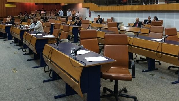 Plenário   Foto: Larissa Quixabeira / Jornal Opção