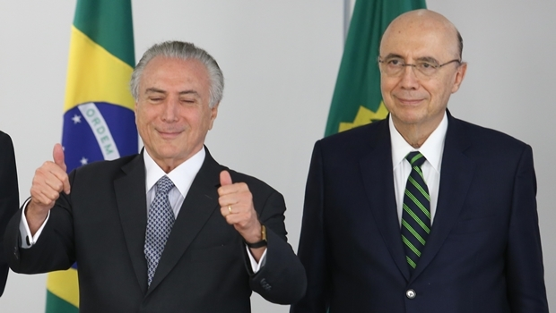 Presidente Michel Temer e o ministro Meirelles   Foto Lula Marques/Agência PT