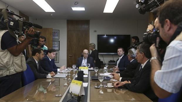 Ministro da Fazenda e presidente da Câmara se reuniram nesta squarta-feira | Foto: Elza Fiúza/Agência Brasil