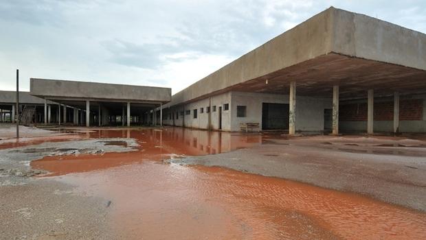 Hospital de Águas Lindas de Goiás, o Hugo 9, deve ser concluído até o começo de 2017 | Foto: reprodução/ MPGO