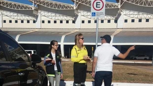 Equipes se revezarão para fiscalizar o aeroporto | Foto: Assessoria de Imprensa da Prefeitura de Goiânia