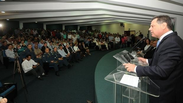 Cerimônia de entrega de certificados no Auditório Mauro Borges | Foto: Lailson Damasio