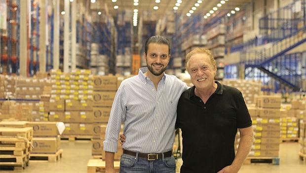 Alexandre Baldy, deputado federal do PTN, e seu sogro, o milionário Marcelo Limírio
