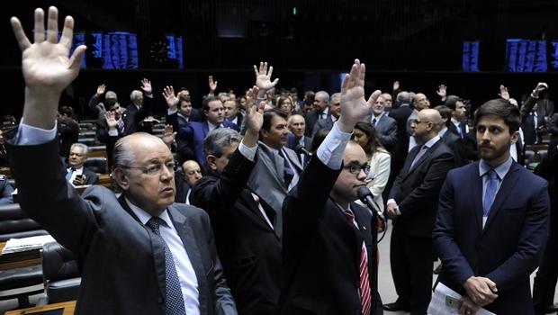 Plenário da Câmara no dia 10 de agosto | Foto: Alex Ferreira