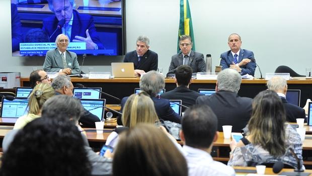 Comissão Especial da Câmara discute pacote de medidas contra a corrupção | Foto: Luis Macedo / Câmara dos Deputados