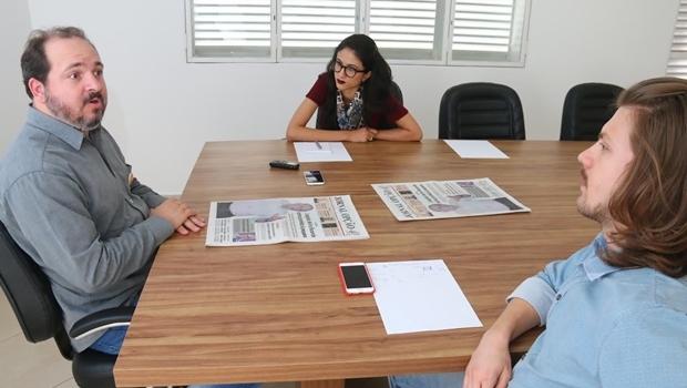 Repórteres do Jornal Opção entrevistam o candidato do PSOL