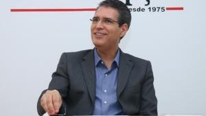 Francisco Jr. durante entrevista ao Jornal Opção