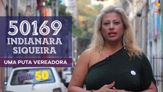Indianara Siqueira é ativista da causa LGBT e candidata a vereadora pelo PSOL | Foto: Reprodução / Facebook