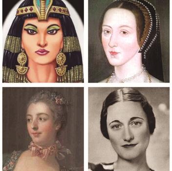 Cleópatra, Ana Bolena, Madame de Pompadour e Wallis Simpson: homens poderosos se tornaram verdadeiros e convictos servos seus