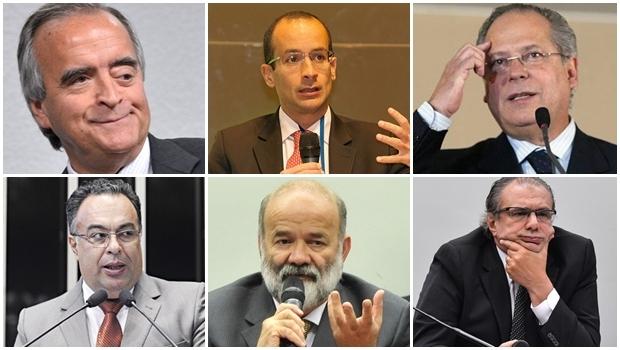 Nestor Cerveró, Marcelo Odebretch, José Dirceu, André Vargas, João Vaccari Neto e Pedro Barusco: todos homens poderosos