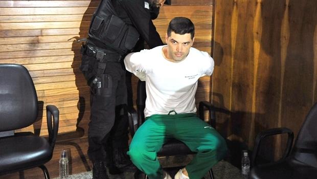 Tiago Henrique Gomes da Rocha é condenado a 290 anos de prisão por homicídios, dois assaltos a mão armada e posse ilegal de armada | Foto: Hernany César / TJGO