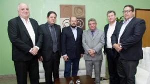 David Torres, Paulo Antenor, Marcos Musafir, Clenan Renaut, Edson Ronaldo e Geferson Barros
