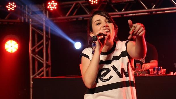 Milkee fez sua estreia no palco durante o Vaca Amarela | Foto: Bruna Aidar/ Jornal Opção