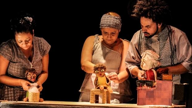 Espetáculo Nu Escuro | Foto: Layza Vasconcelas