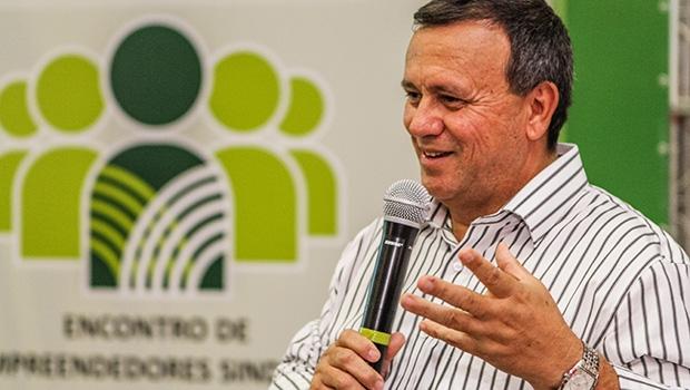 Superintendente do Senar e vice-presidente da Faeg, Eurípedes Bassamurfo sublinha que a cadeia é a mais carente e, por isso, o Encontro se torna essencial | Foto: Divulgação/Sebrae