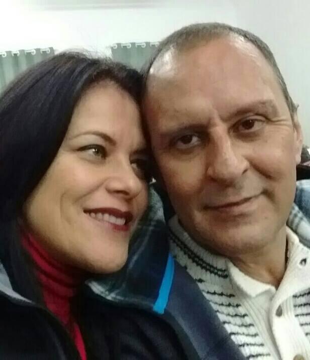 Neiva Monteiro Alves e Léo Alves; ela era mulher do jornalista | Foto: Facebook