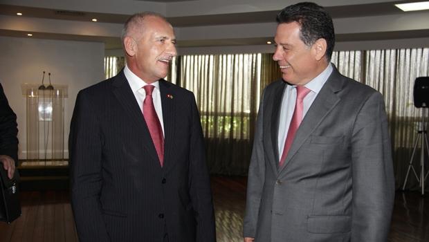 Marconi recebe embaixador da Suíça em visita oficial | Foto: Marco Monteiro