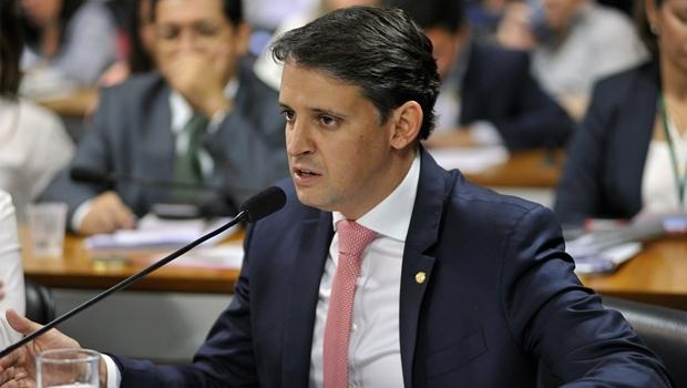 Deputado federal Thiago Peixoto durante audiência | Foto: Alex Ferreira/ Agência Câmara