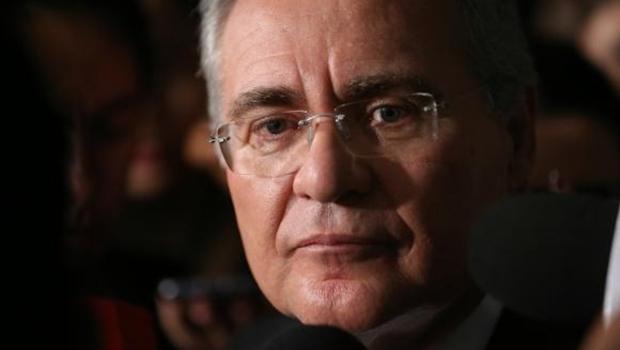 Presidente do Senado, Renan Calheiros, fala à imprensa  (Fabio Rodrigues Pozzebom/Agência Brasil)Fabio Rodrigues Pozzebom/Agência Brasil