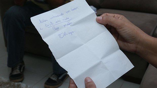Carta escrita por Tiago Henrique para a mãe de Lilian Sissi mostra um réu confesso que pode ter se arrependido do assassinato