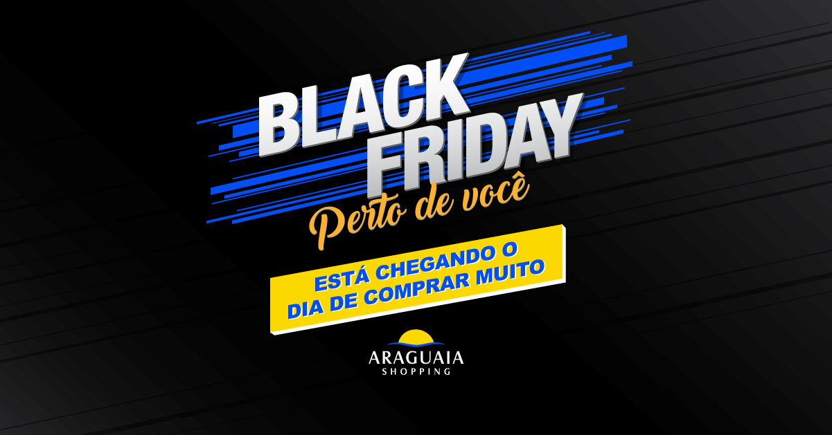 40b0e93931 A Black Friday no Araguaia Shopping ocorre nesta sexta-feira (24 11) e terá até  70% de descontos. Algumas lojas funcionarão em horário diferenciado