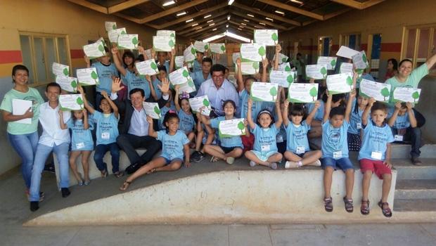 Projeto de Aparecida de Goiânia transforma crianças em agentes ambientais