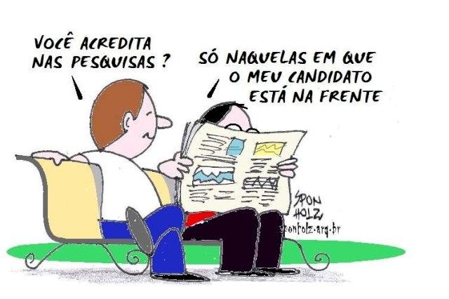 Pesquisa grosseiramente falsificada atribuída ao Serpes/OPopular circula em Catalão - Jornal Opção