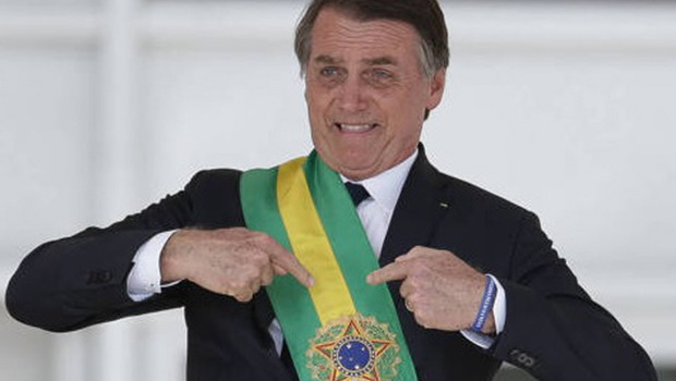 Revista Time elenca Bolsonaro entre os 100 mais influentes de 2019