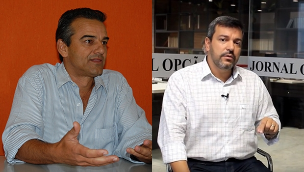 Pré-candidatos eleições 2020 em Jataí: Humberto Machado e Vinícius Luz.