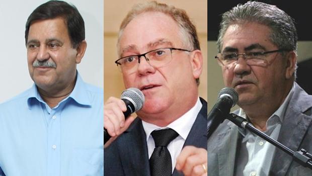 Pré-candidatos eleições 2020 em Rio Verde: Juraci Martins, Paulo do Vale e Sebastião Pereira