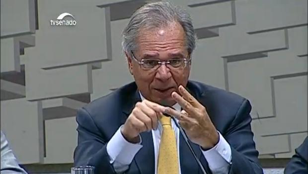 """""""Sistema previdenciário atual é perverso"""", diz Guedes na Câmara"""