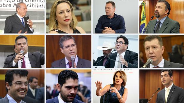 Pré-candidatos eleições 2020 em Goiânia