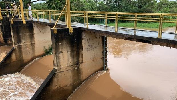 """""""Se essa chuva vier, teremos uma aliviada"""", diz presidente do comitê do Rio Meia Ponte"""