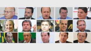 Lista dos 26 favoritos para deputado federal de Goiás em 2018
