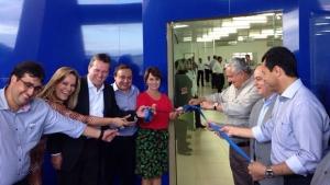 Governo de Goiás inaugura Vapt Vupt em Buriti Alegre