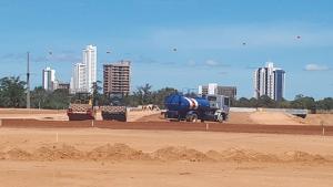 Governo acelera ritmo das obras na Avenida NS-15 e no Setor Itaquari