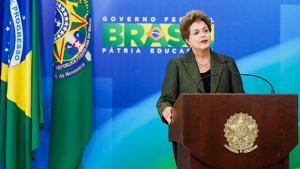 "Dilma ""piscou"""