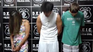 Quadrilha que assaltava residências no Setor Jaó é presa