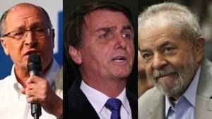 """Alckmin diz que Lula e Bolsonaro """"não têm chances"""" na corrida à Presidência"""