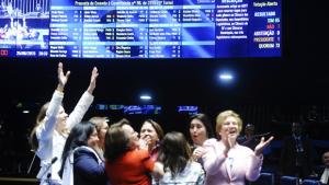 Senado aprova cotas para mulheres no Legislativo