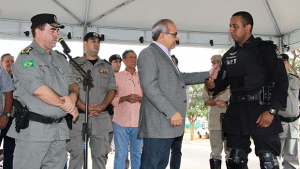 Segurança pública ganha motos e agilidade na região leste de Trindade