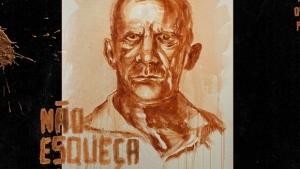 Artista transforma lama em retrato de vítimas de Mariana