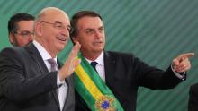 Bolsonaro almoça com Osmar Terra; assessores de Mandetta já teriam sido informados de demissão