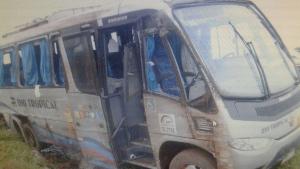 Micro-ônibus com técnico do Ministério da Agricultura e russos tomba na BR-060