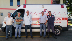 Morrinhos recebe veículo do Ministério da Saúde por sua excelência no combate a aedes aegypti